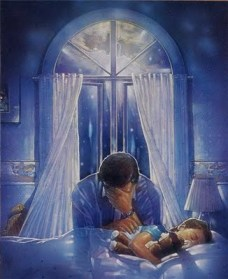 Father+praying+over+child